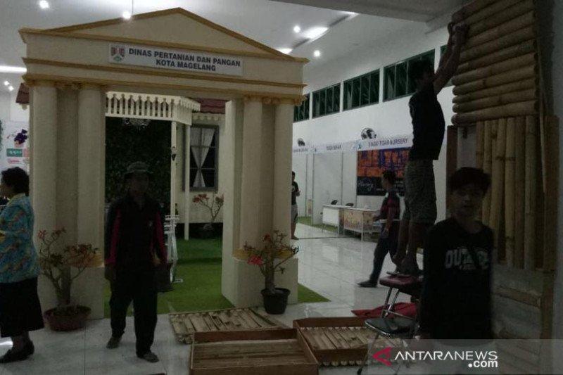 Puluhan stan disiapkan untuk Agri Flori Expo 2019 Kota Magelang