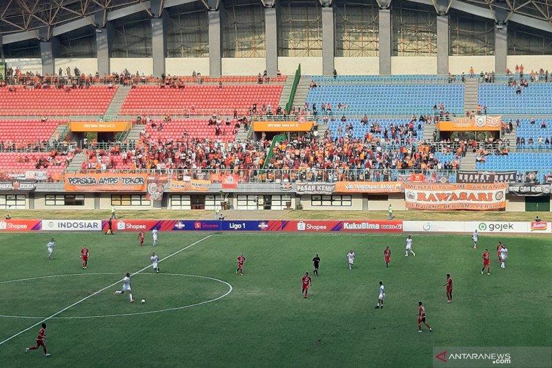 Persija ditundukkan Bali United 0-1