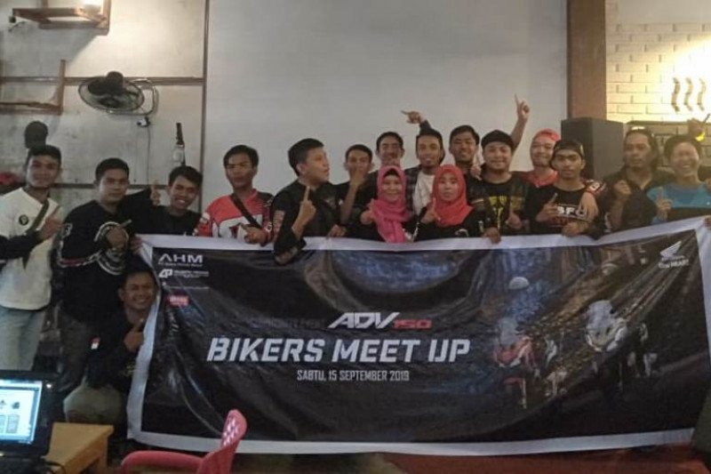 Honda Palu gelar ADV150 Bikers Meet Up