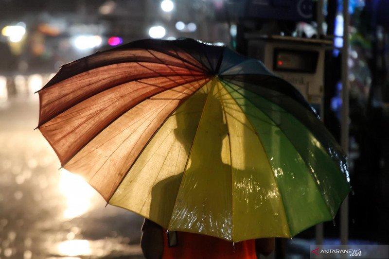 Hujan mulai guyur di sejumlah wilayah di Sulteng