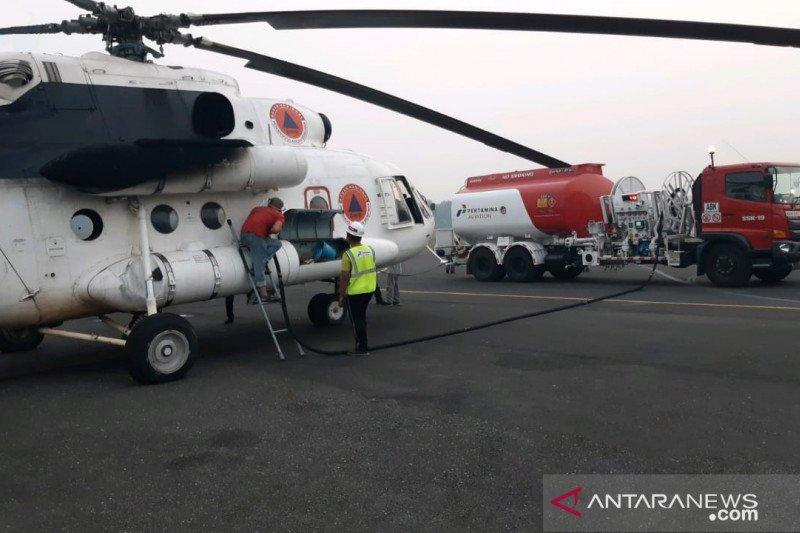 Pertamina pasok avtur helikopter