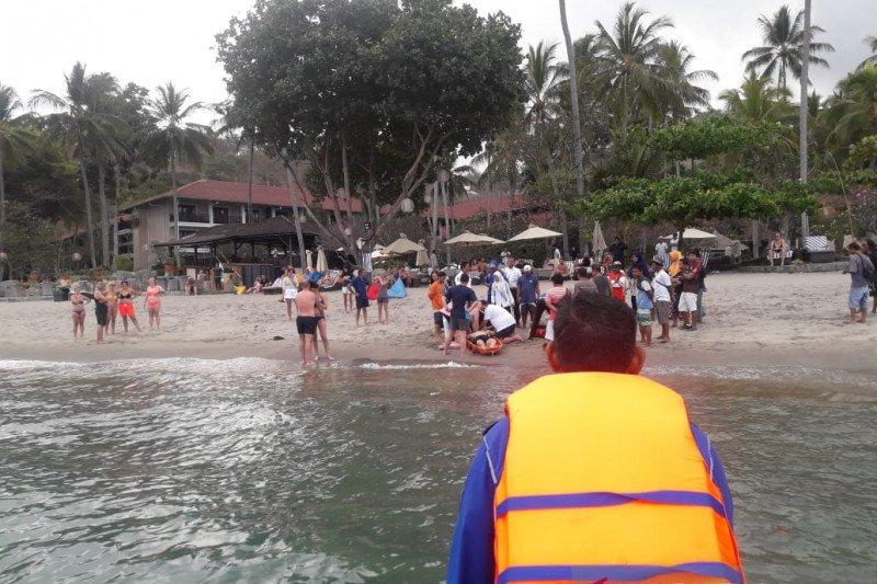 Turis Finlandia meninggal di Pantai Senggigi