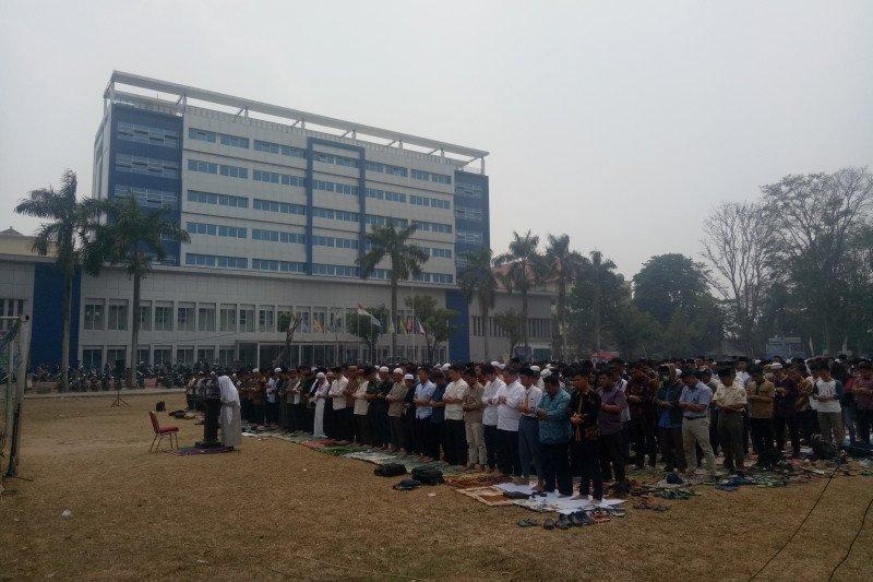 Mahasiswa UIN Raden Fatah Palembang  gelar shalat minta hujan