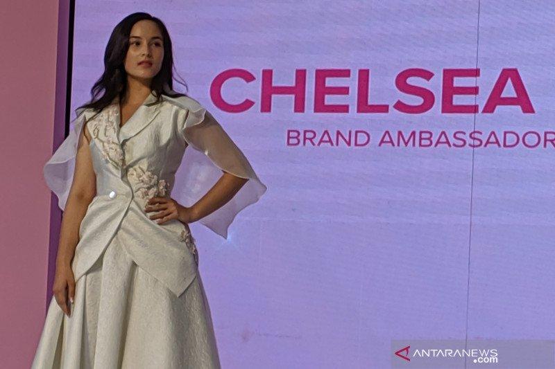 Chelsea Islan bersiap syuting