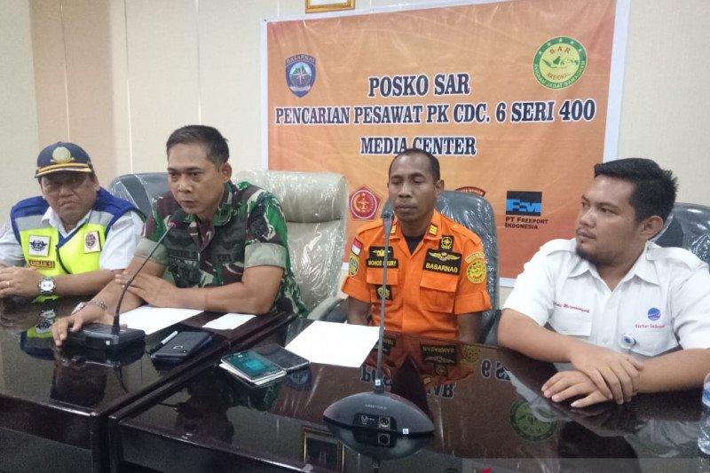Jumat, lanjutan pencarian pesawat hilang kontak di Mimika-Ilaga