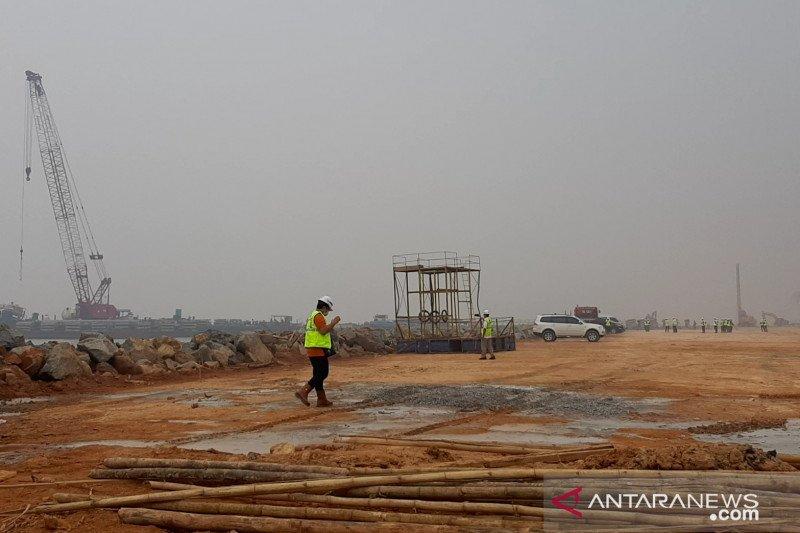 Progres pembangunan Terminal Kijing di Mempawah 23 persen