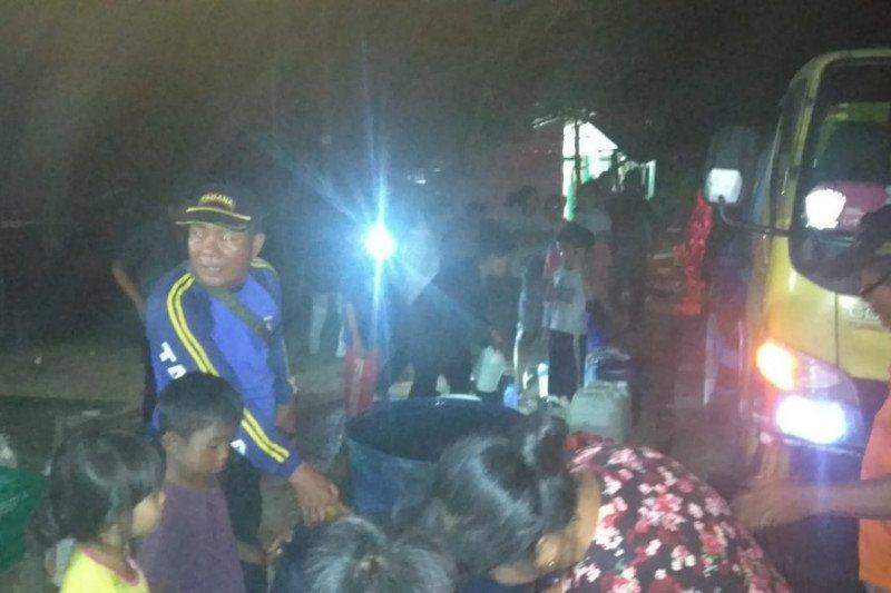 BPBD Padang telah salurkan 470 ribu liter air bersih