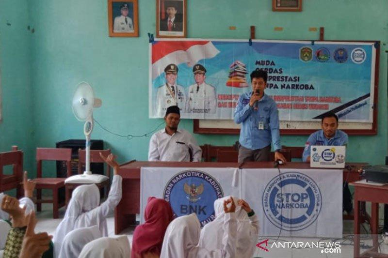 BNK Lutim sosialisasi bahaya narkoba di kalangan pelajar