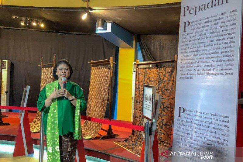 Pameran batik Keraton dan Pakualaman tunjukkan eksistensi batik