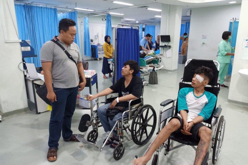 Lima korban luka dalam tawuran antarwarga di Tebet