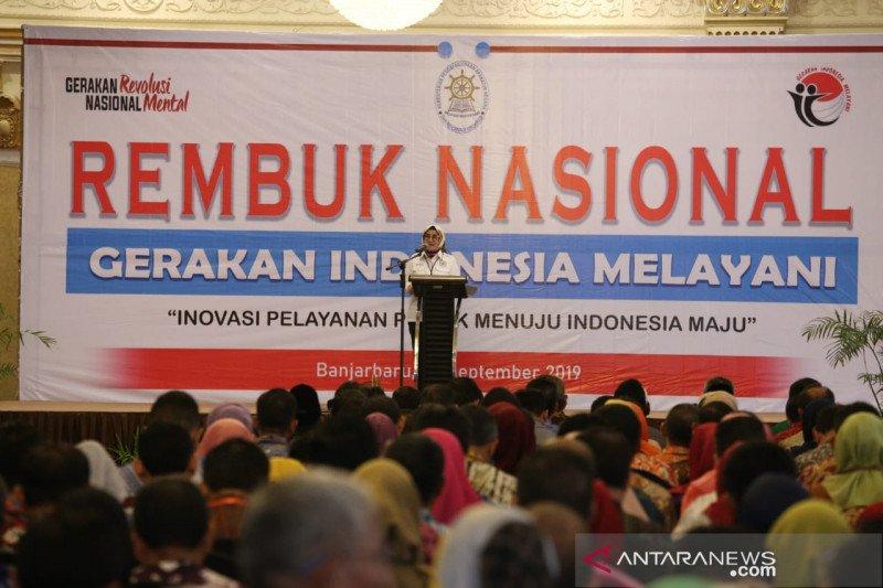 Catatan pencapaian Gerakan Indonesia Melayani
