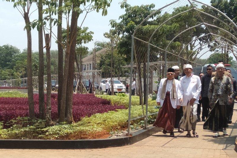 KH Ma'ruf Amin hadiri Rapat Pleno PBNU di Purwakarta