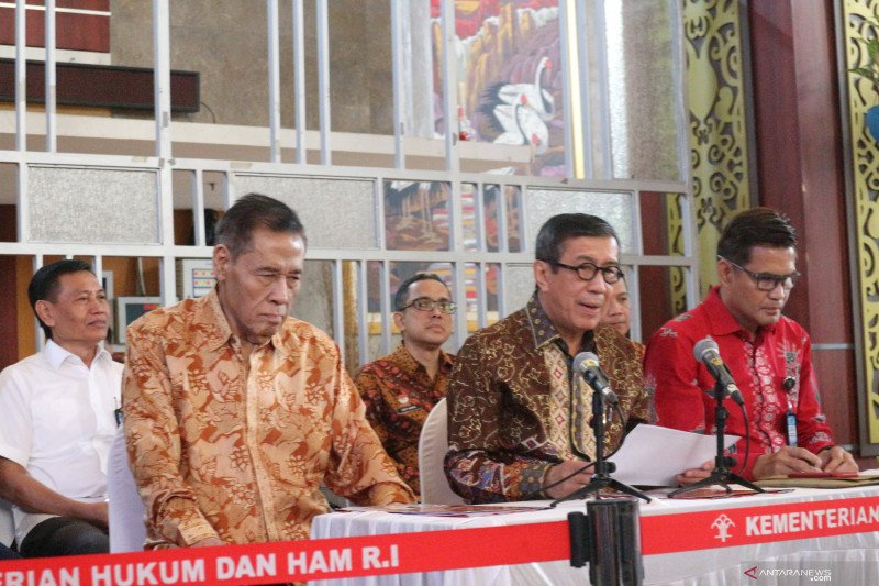 Yasonna: KUHP atur penyelenggara negara korup dihukum lebih berat