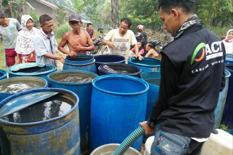 ACT Sumut salurkan 15.000 air bersih atasi kekeringan di Labuhan Batu