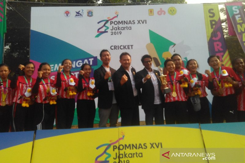Bali kawinkan medali emas pada cabang olahraga kriket