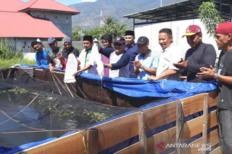 Ansor Palu luncurkan budi daya perikanan berbasis komunitas