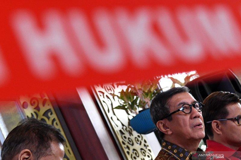 Menkum HAM Yasonna bungkam terkait opsi penerbitan Perppu UU KPK