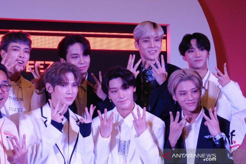 Grup K-pop ATEEZ janjikan penampilan terbaik di Istora walau tanpa Min-gi