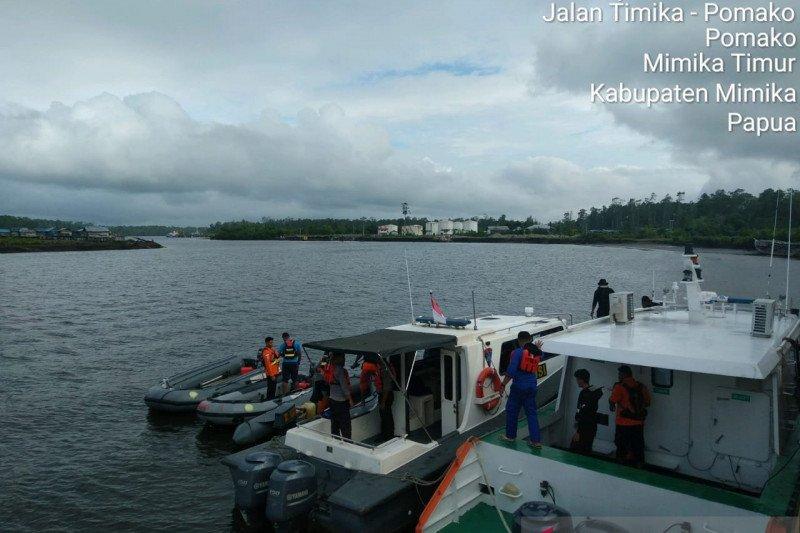 SAR dan Polisi Timika cari korban tenggelam di Sungai Pomako