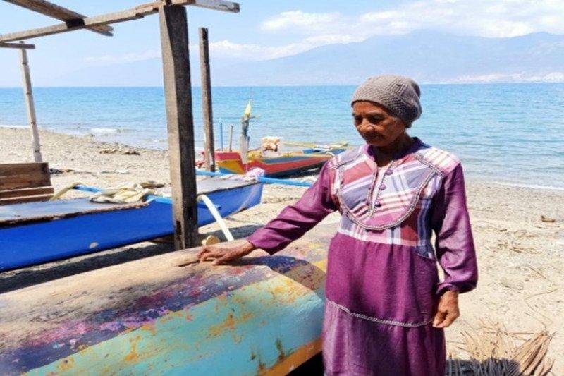 Suliman, perempuan nelayan tangguh di Teluk Palu