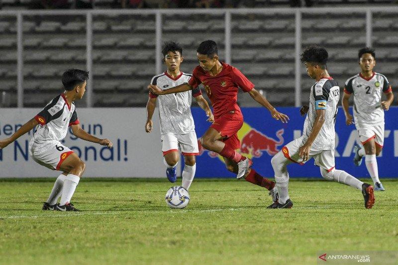 Kualifikasi Piala Asia U-16 -- Indonesia tempati posisi kedua dalam klasemen Grup G