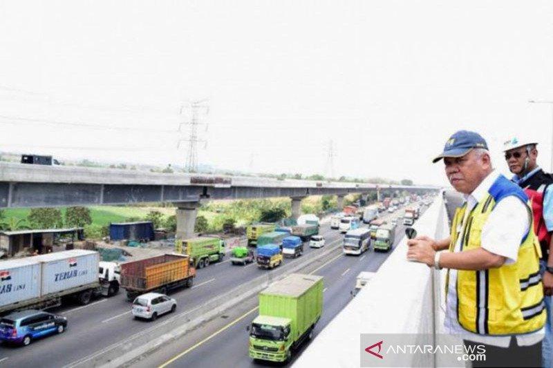 Menteri PUPR: Tol layang Japek akan beroperasi November 2019
