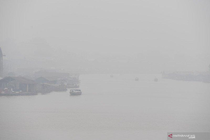 Kualitas udara di Palangka Raya memburuk dan membahayakan kesehatan