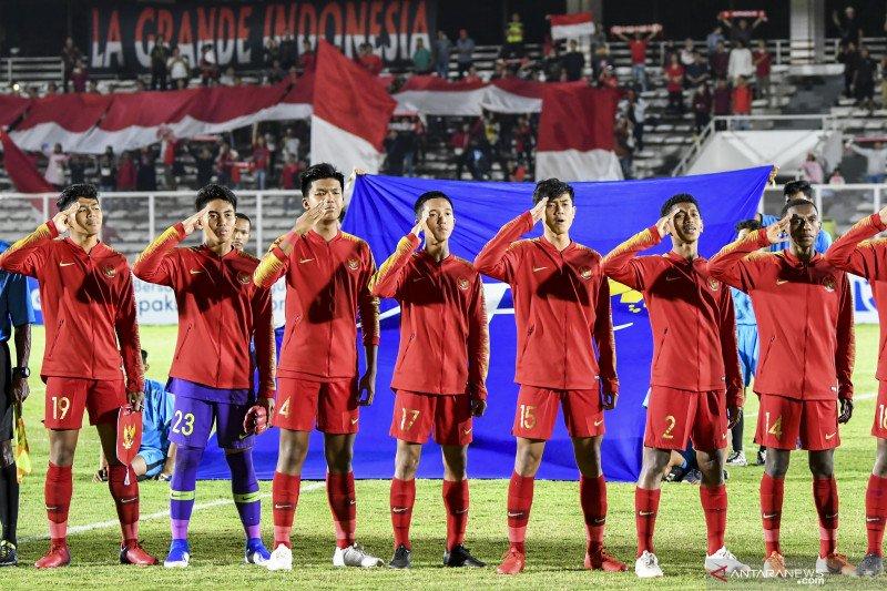 Indonesia versus China babak pertama berakhir tanpa gol