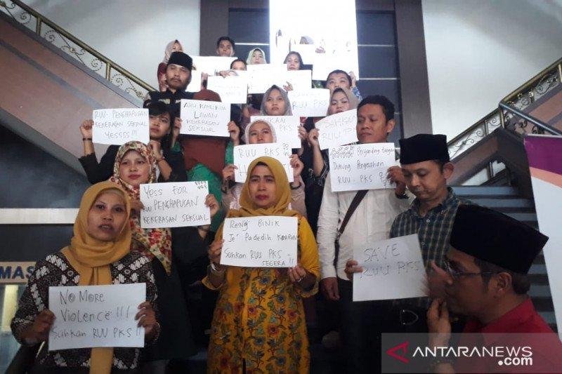 Masyarakat Jember desak DPR sahkan RUU Penghapusan Kekerasan Seksual