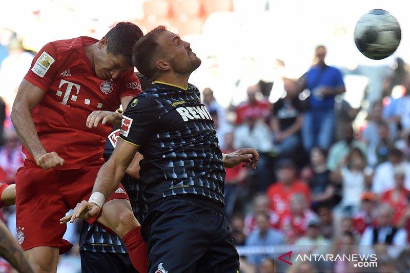 Bayern Munich puncaki klasemen sementara setelah bekuk Koln 4-1