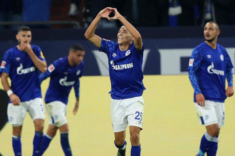 Schalke menang atas FSV Mainz berkat gol menit akhir Amine Harit