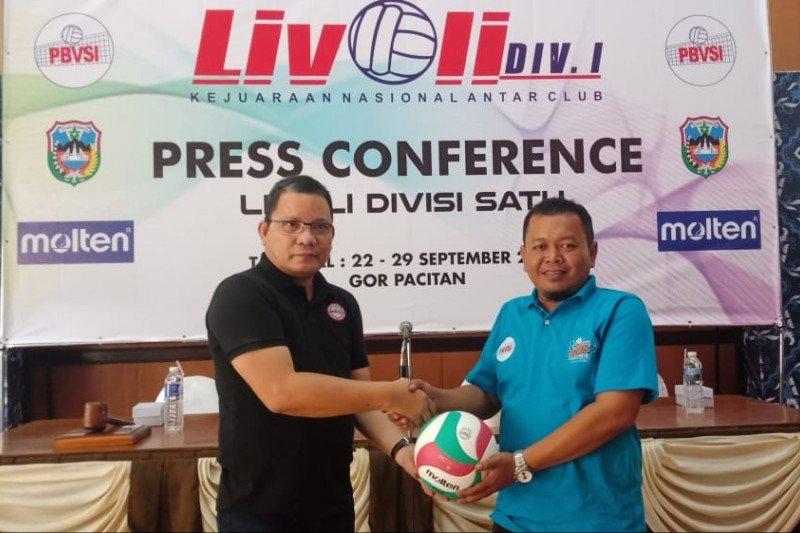 puluhan tim voli bersaing di Livoli Divisi 1 2019 Pacitan
