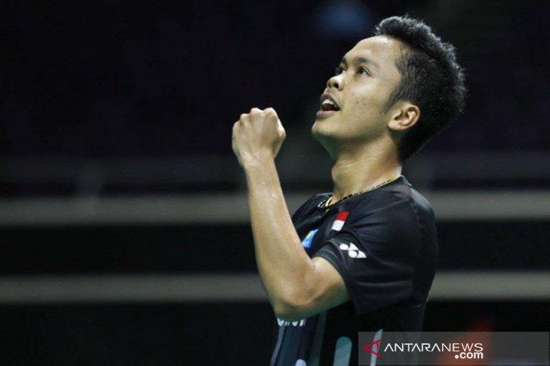 Tiga wakil Indonesia melaju ke final China Open
