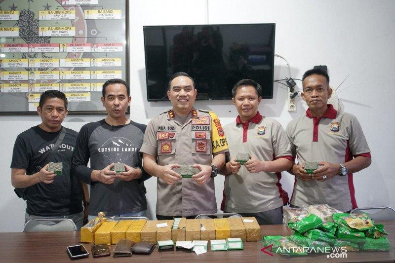 6.000 detonator selundupan dalam penyelidikan Polres Parepare