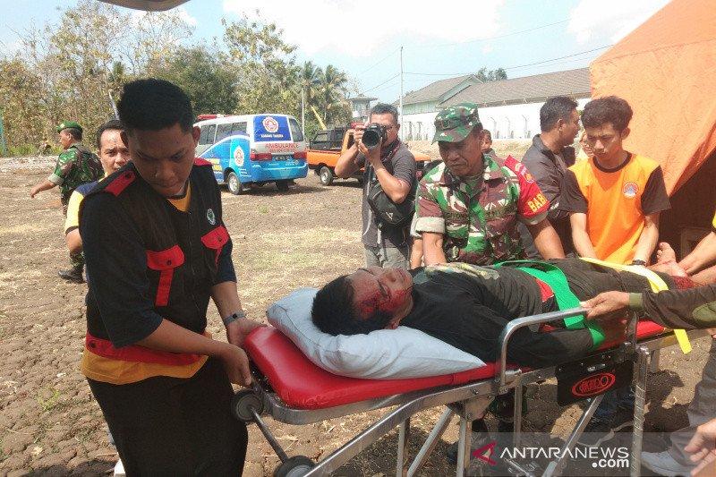 Simulasi gempa tandai Guwosari sebagai desa tangguh bencana