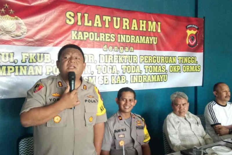 Polemik RUU KPK, Polisi ajak masyarakat Indramayu jaga iklim kondusif