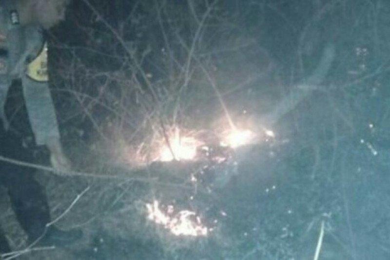 Kebakaran lahan di Majene  berhasil dipadamkan