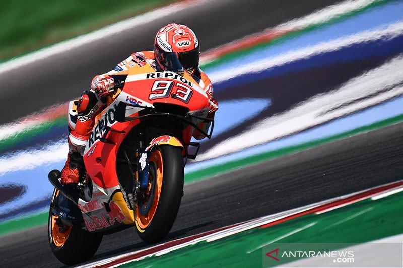 Marquez raih pole position GP Aragon