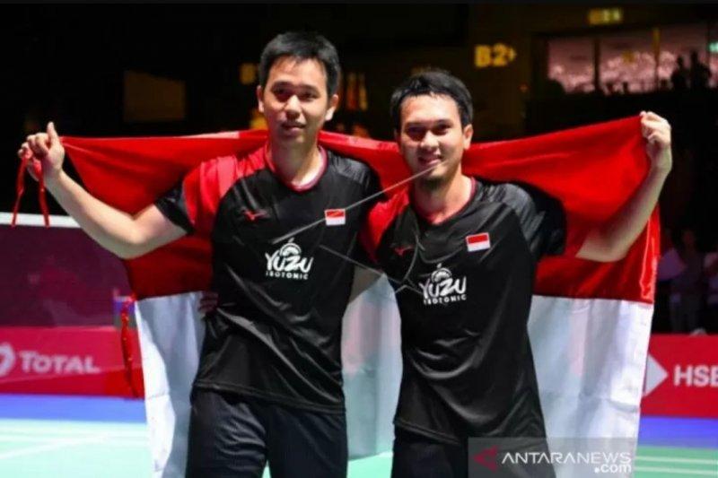 Hendra/Ahsan melaju ke final China Open 2019