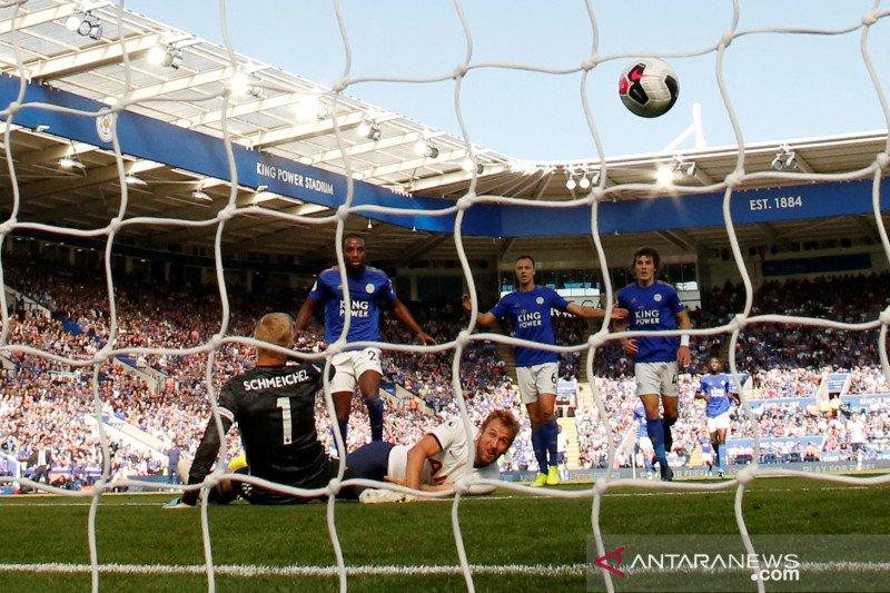 Dua kali gol dianulir teknologi VAR, Tottenham kalah atas Leicester