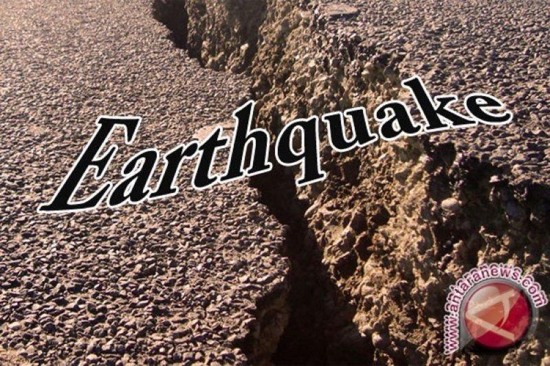 Gempa magnitudo 4,1 mengguncang timur laut Melonguane-Sulut