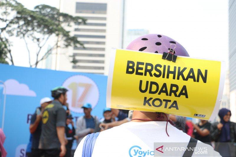 Rabu pagi, kualitas udara Mangga Dua Selatan terburuk se-Jakarta