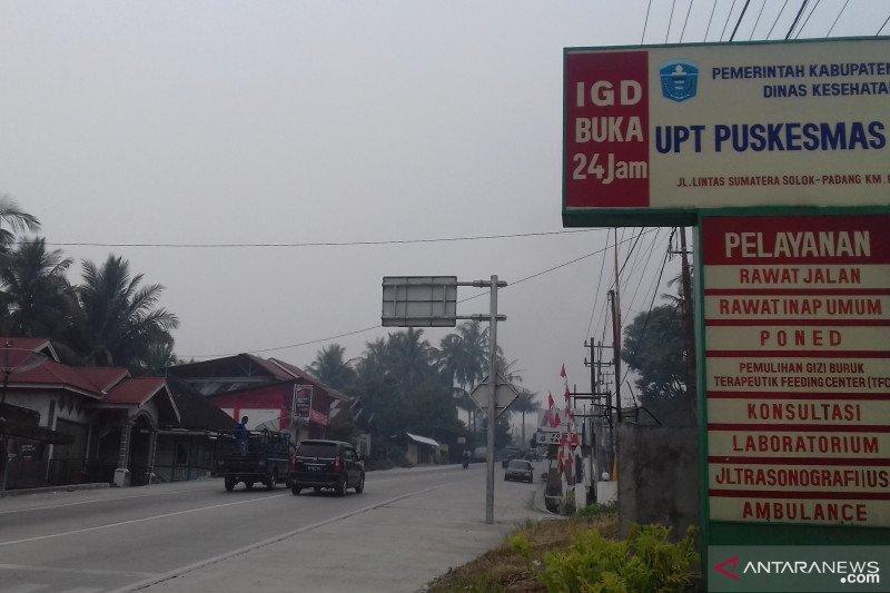 Kabut asap kian pekat, Pemkab Solok liburkan sekolah tiga hari