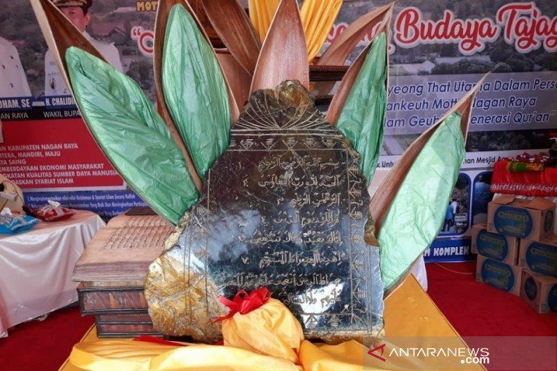 Giok dan Alquran kuno di ajang MTQ Aceh