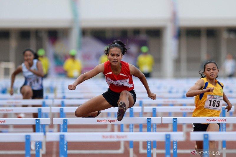 Ken Ayuthaya sumbang emas pertama DKI Jakarta dari cabang atletik