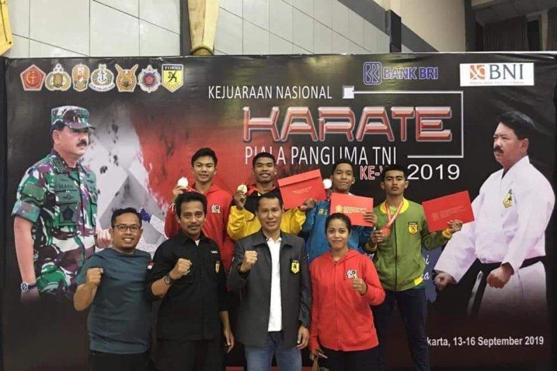 Karateka Lampung ikut pelatnas Kejuaraan Dunia WKF di Chili