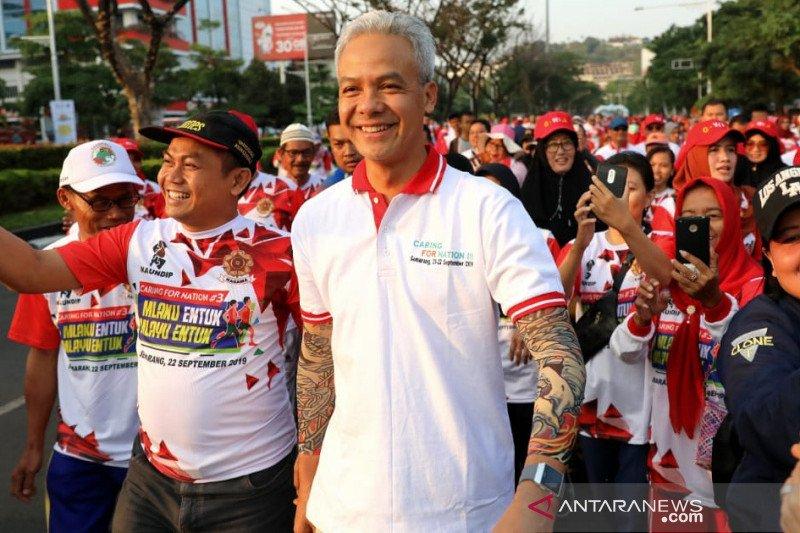 Ganjar usulkan pemanfaatan jalur penghubung Bandara Yogyakarta-Borobudur