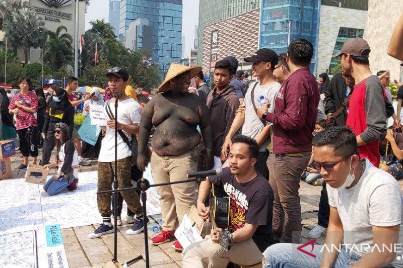 Mata Rantai Jurnalis gelar aksi 1 juta masker bagi korban karhutla