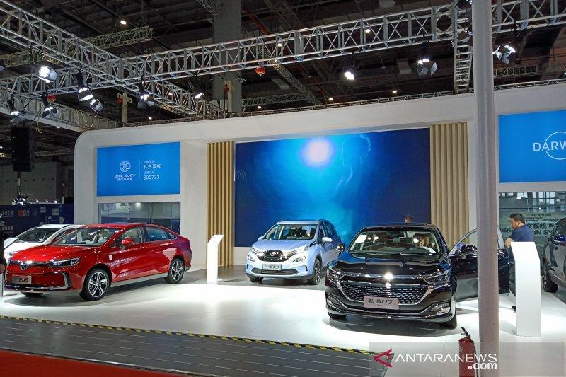 Intip mobil listrik di CIIF Shanghai, harganya mulai Rp130 jutaan