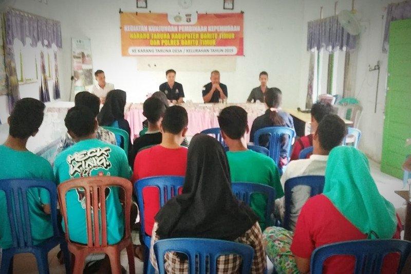 Karang Taruna desa dimotivasi bantu pembangunan Barito Timur